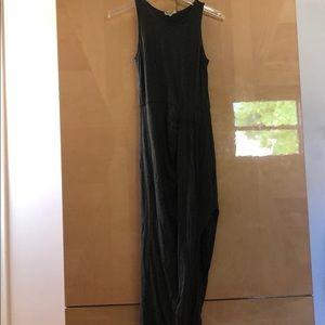 Urban Outfitters Grey Maxi Dress w Slit XS